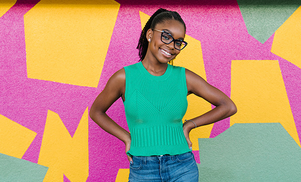 Marsai Martin Brings Focus on Single Vision Patients | Women In ...
